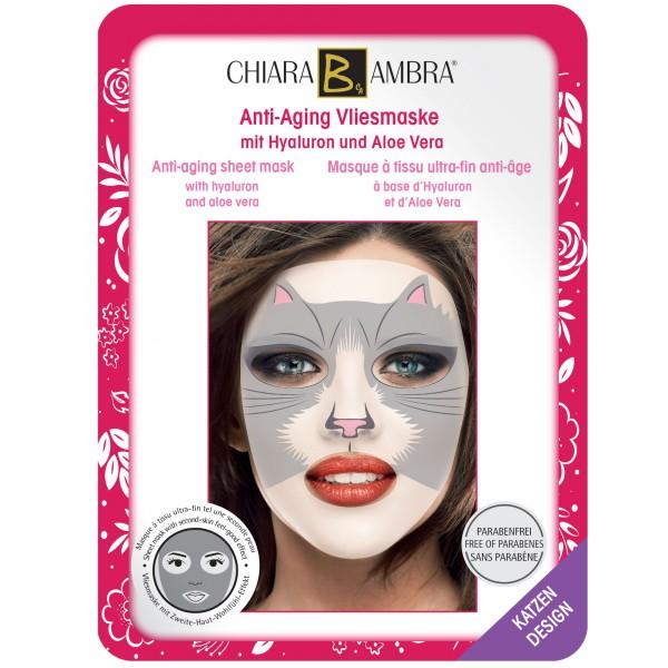 CHIARA AMBRA Gesichtsmaske im Tierdesign - Katzen Motiv