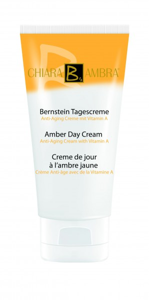 Amber anti-aging day cream