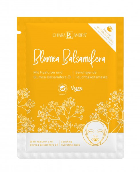 CHIARA AMBRA® Tuchmaske Blumea Balsamifera