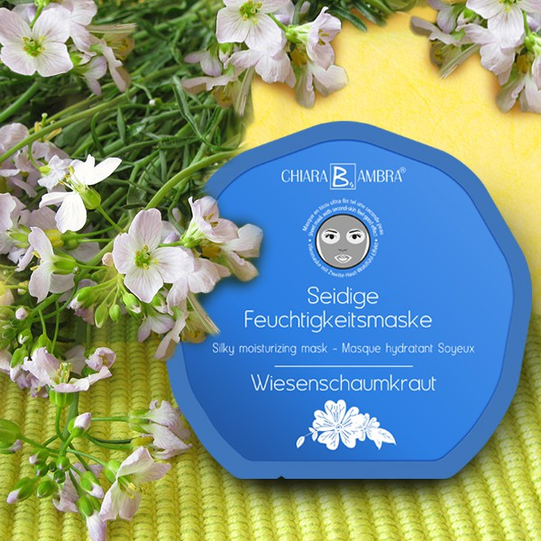 CHIARA AMBRA® Face Sheet Mask Cuckoo Flower