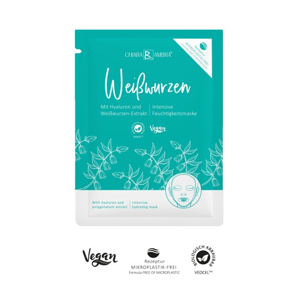 CHIARA AMBRA® Polygonatum sheet mask