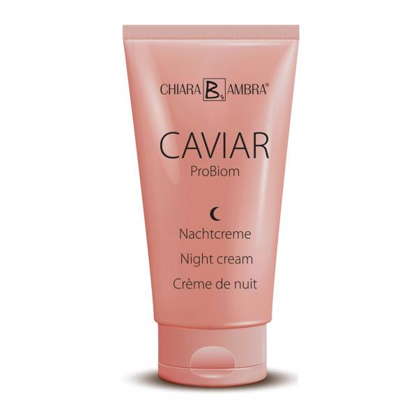 CHIARA AMBRA® Caviar ProBiom Night cream, 50 ml