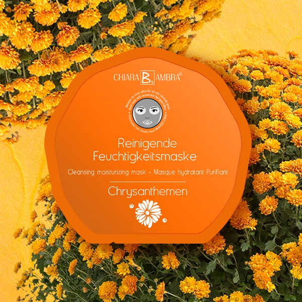 CHIARA AMBRA® Face Sheet Mask Chrysanthemum