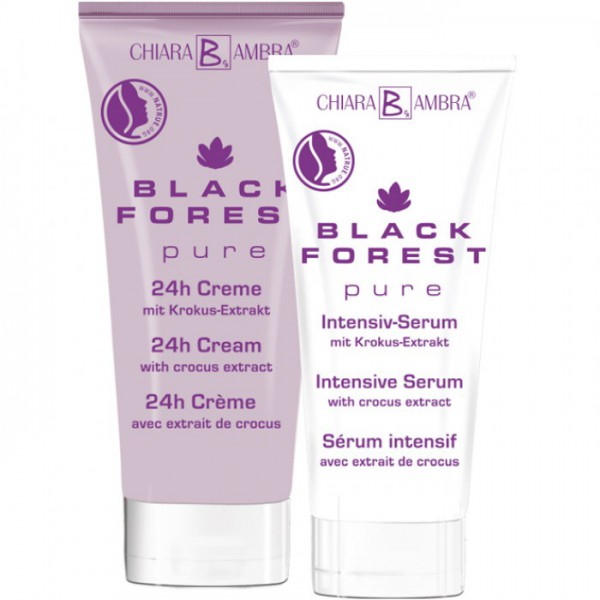 BLACK FOREST pure Gesichtspflegeset 24h Creme & Intensiv-Serum