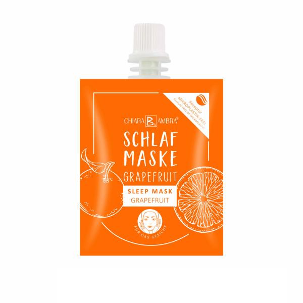 CHIARA AMBRA® Grapefruit sleep mask
