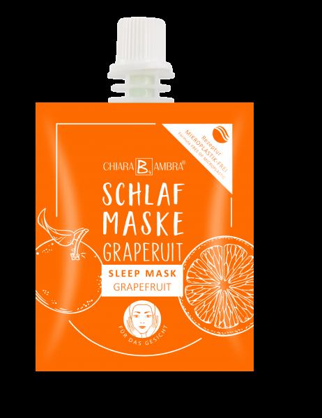Schlafmaske Grapefruit