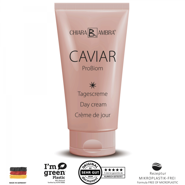 CHIARA AMBRA® Caviar ProBiom Day cream, 50 ml
