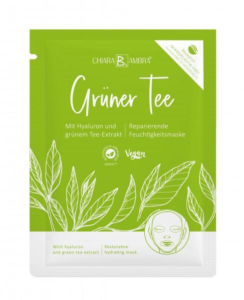 Tuchmaske Grüner Tee
