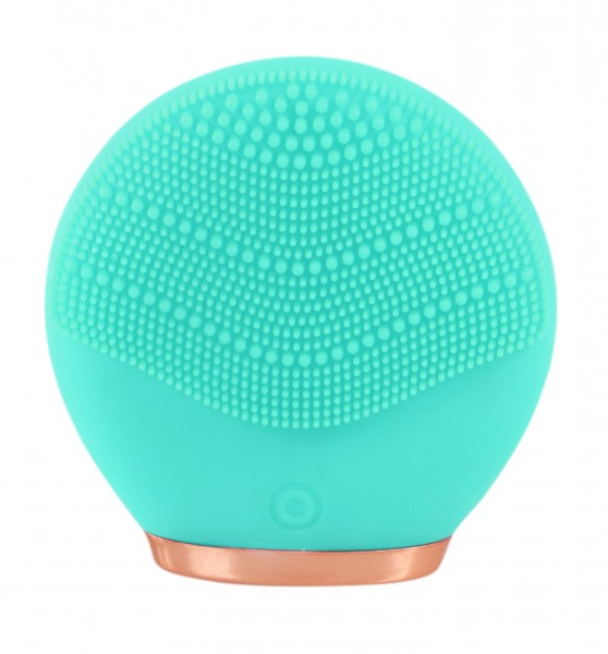 CHIARA AMBRA® - FACE SPA Electric silicone facial cleansing brush, turquoise