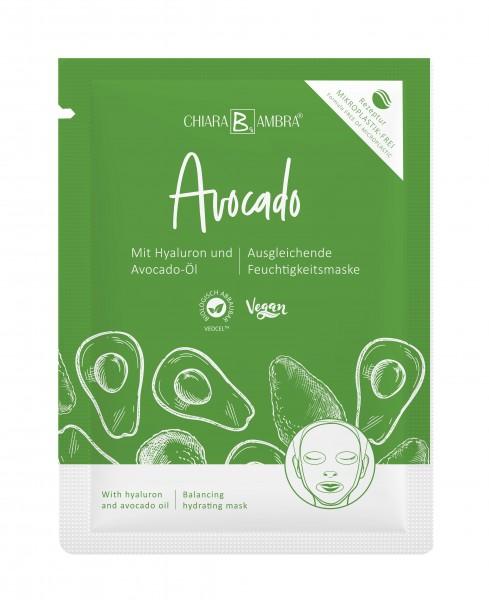 CHIARA AMBRA® Tuchmaske Avocado