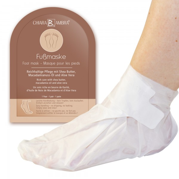 CHIARA AMBRA® foot mask