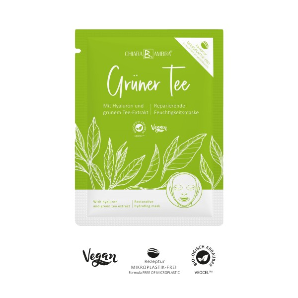 CHIARA AMBRA® Green tea sheet mask