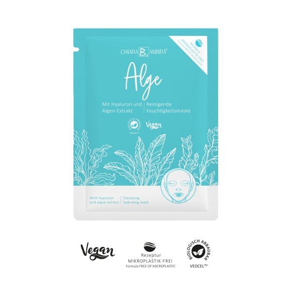CHIARA AMBRA® Algae sheet mask